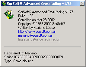 Download SqrSoft Advanced Crossfading Output