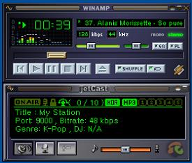 Download jetCast DSP plugin for Winamp V2