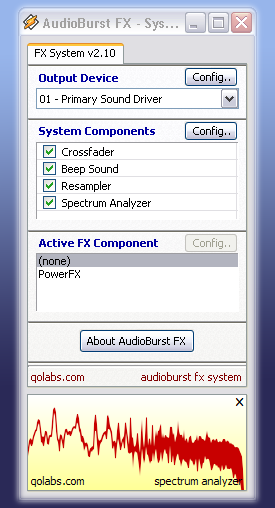 Download Audioburst FX System 2 - FREEWARE