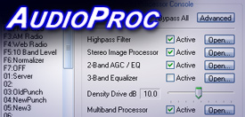 Download AudioProc Broadcast Audio Processor