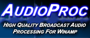 AudioProc Broadcast Audio Processor