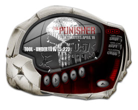 The Punisher Winamp 5 Skin